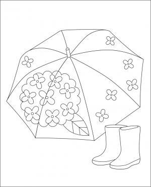 レク素材 傘長靴介護レク広場レク素材やレクネタ企画書の無料