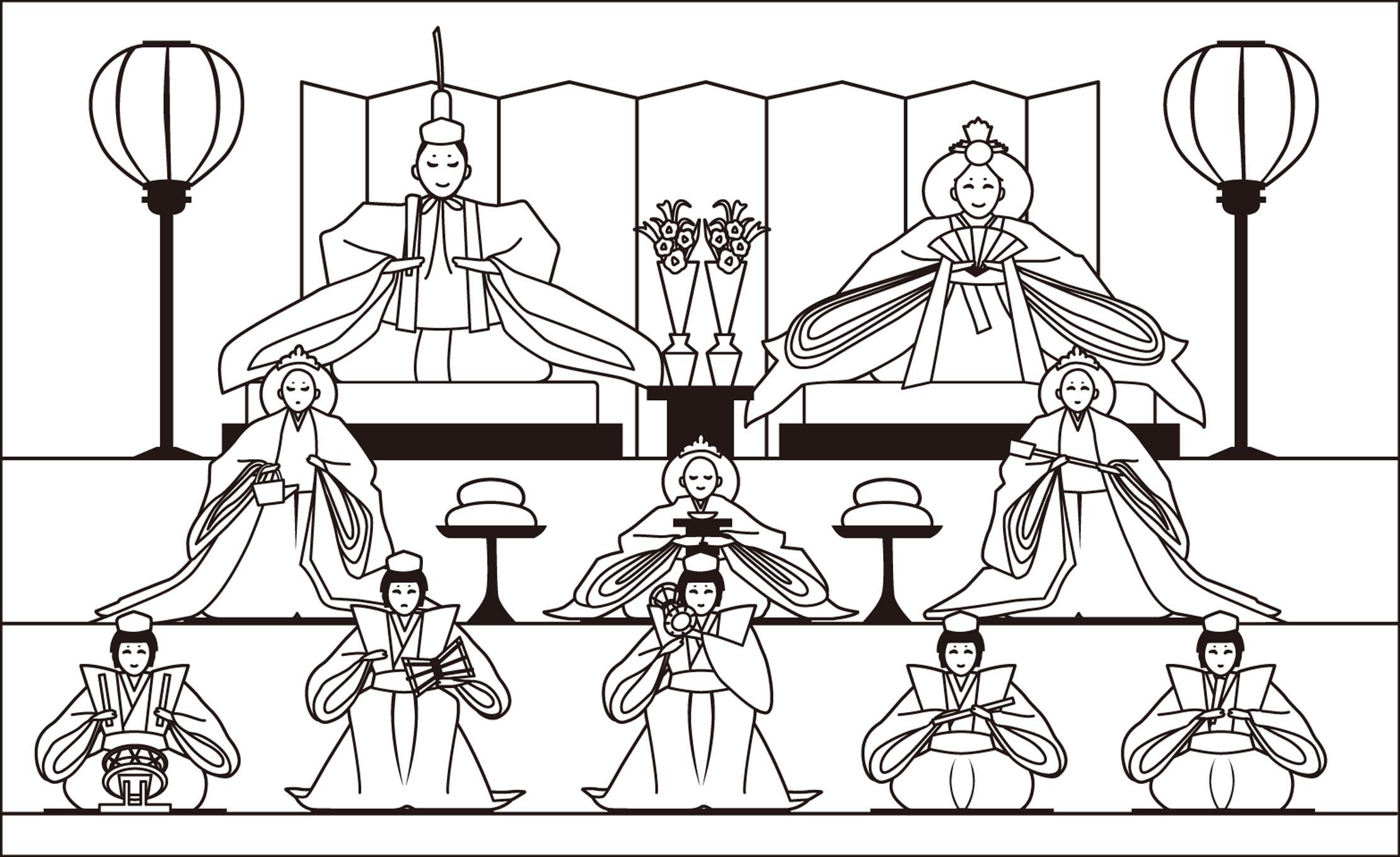 レク素材 雛飾り介護レク広場レク素材やレクネタ企画書の無料