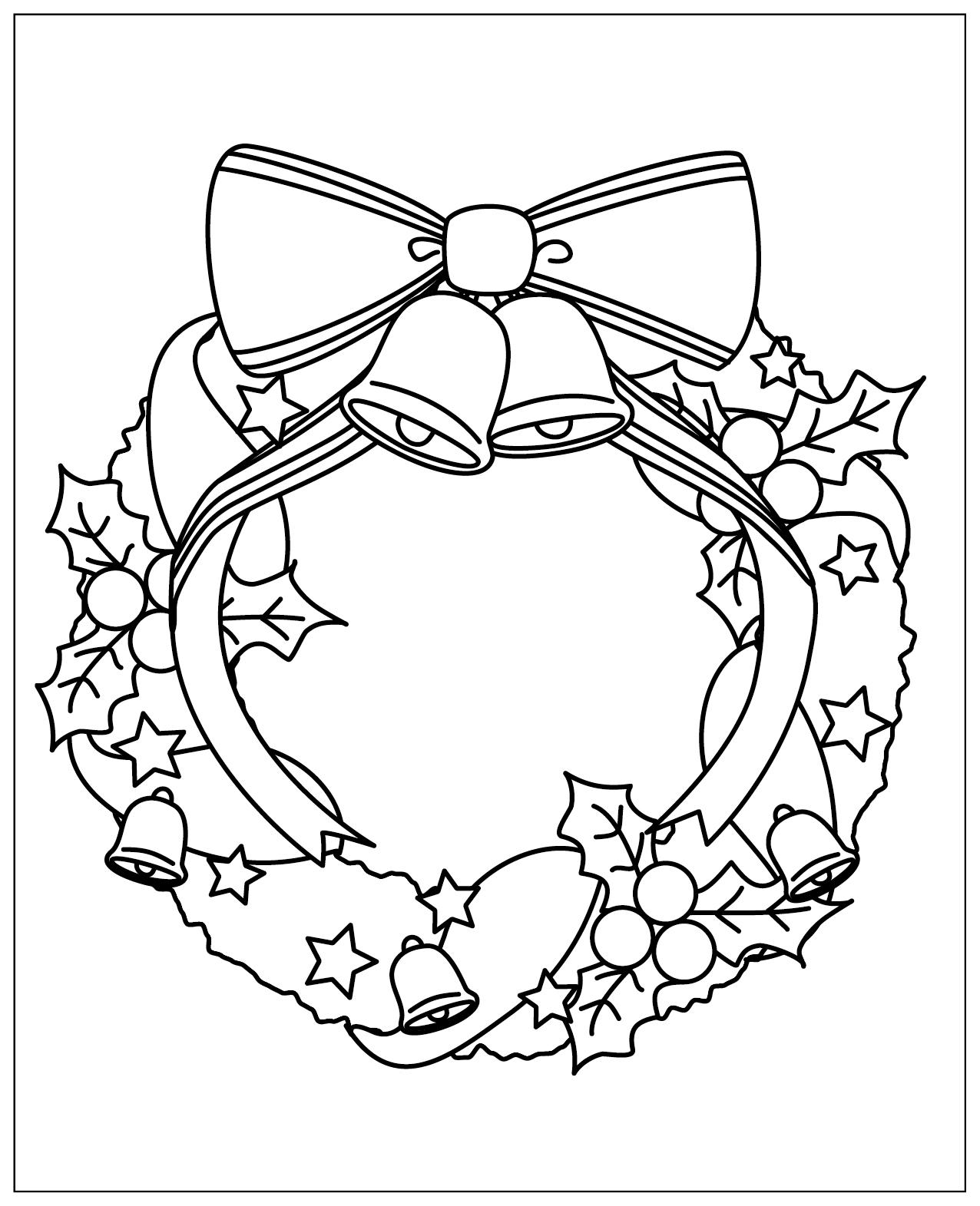 レク素材 クリスマスリース介護レク広場レク素材やレクネタ企画書