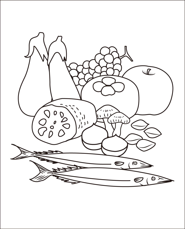 レク素材 秋の味覚介護レク広場レク素材やレクネタ企画書の無料